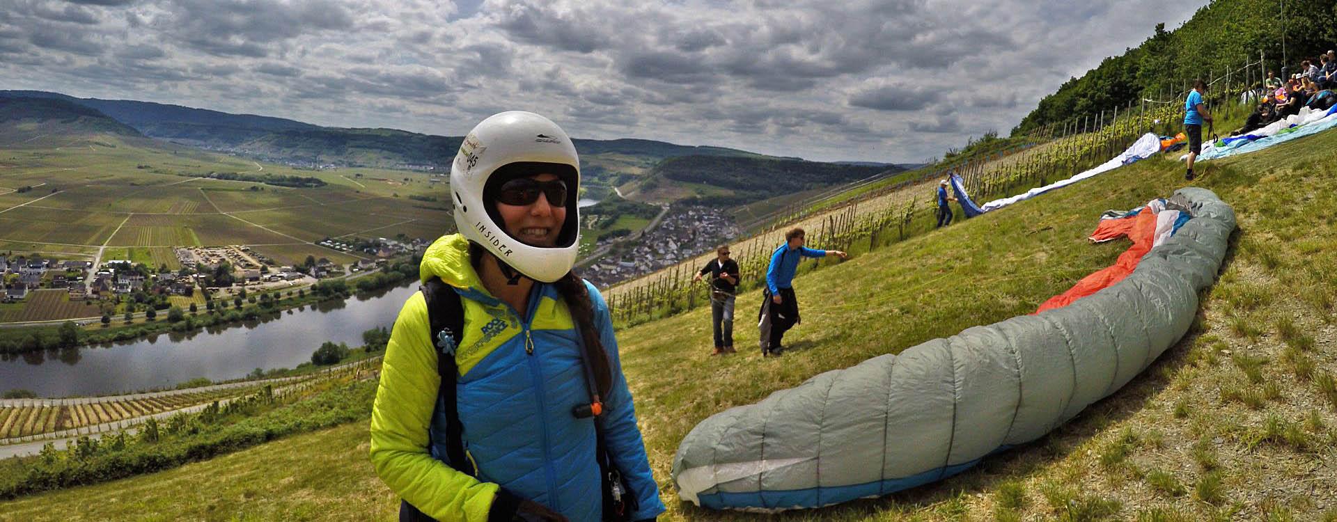 Sexy Paragliding Mosel Klüsserath